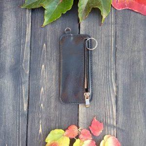 Ключница карманная на молнии