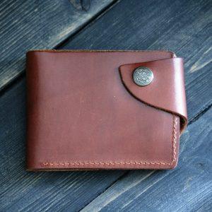 Бумажник с монетницей
